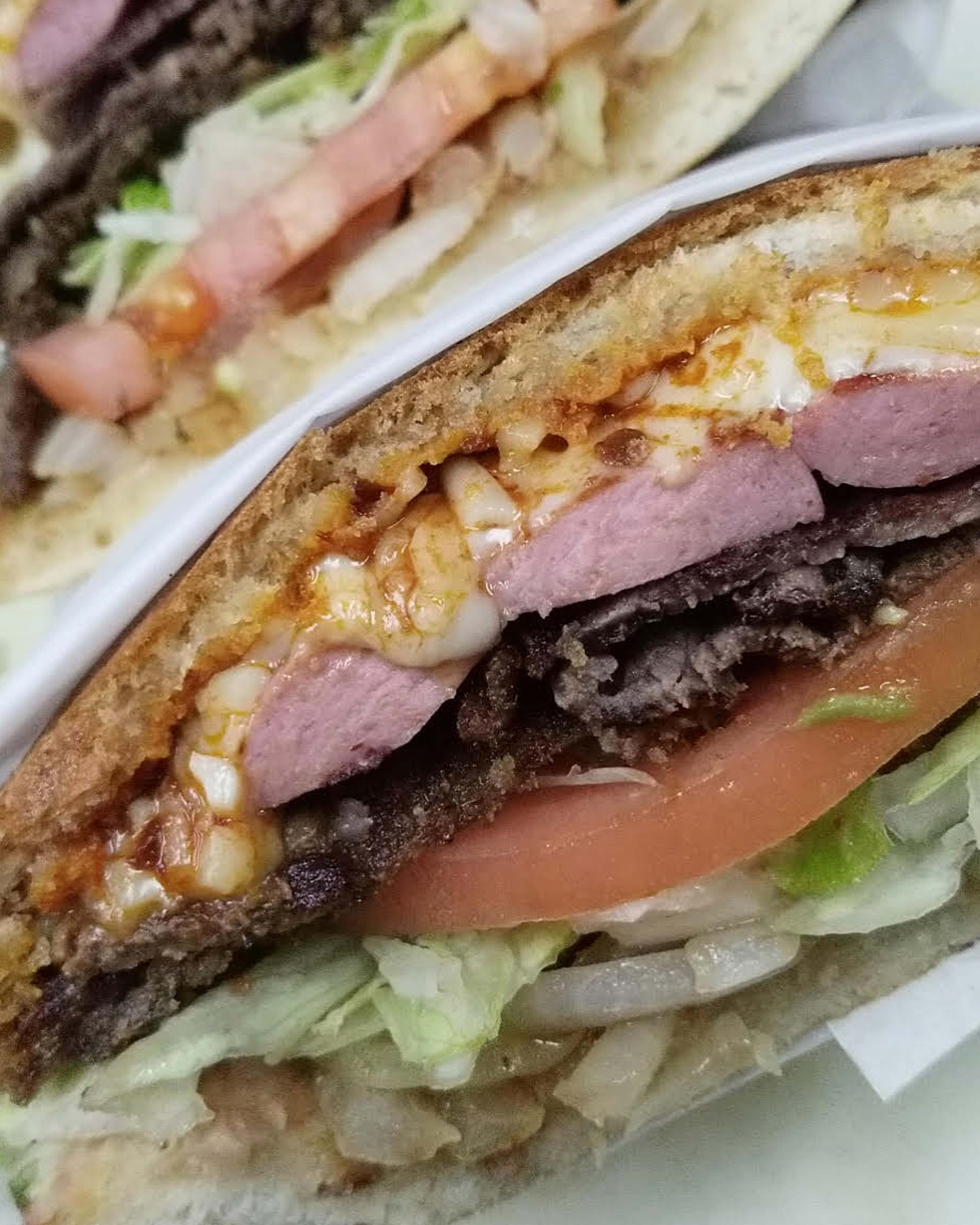 image of pork cubano torta